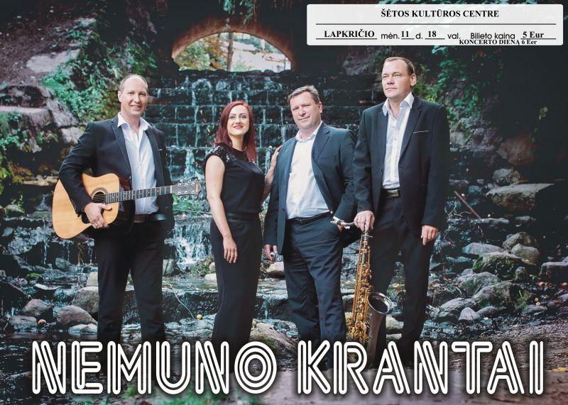 """,,Nemuno krantai"""" koncertas @ Šėtos kultūros centras"""
