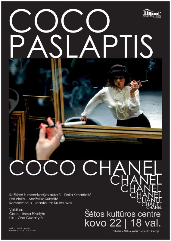 """Alytaus miesto teatro spektaklis ,,COCO PASLAPTIS"""" @ Šėtos kultūros centras"""