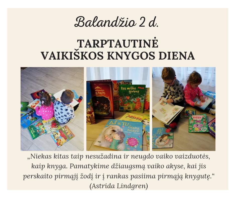 Tarptautinė vaikiškos knygos diena